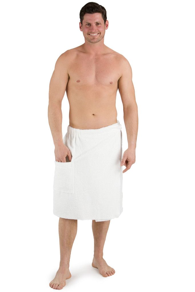 Mens Spa Towel Wrap Cotton/Bamboo Viscose Fabric – Fishers Finery