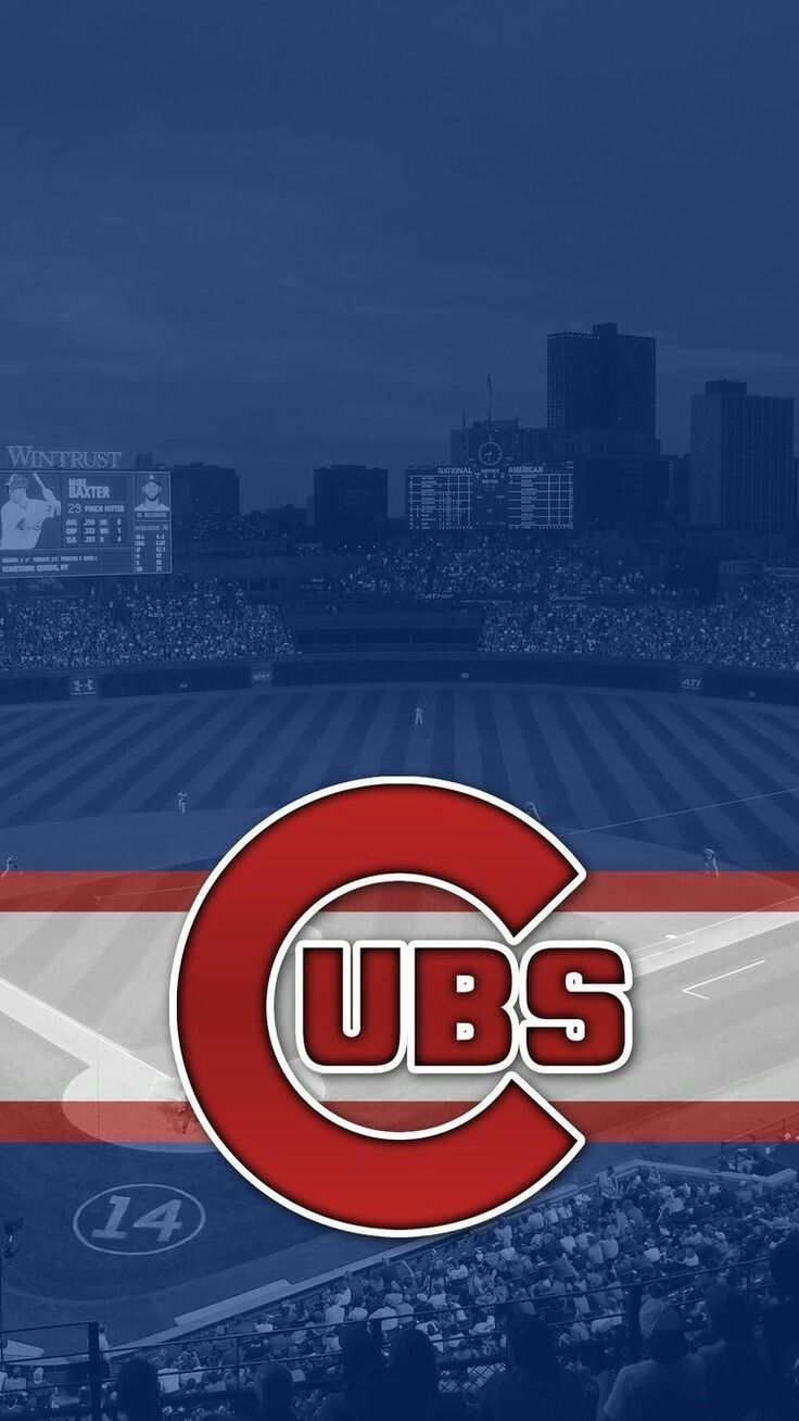 Chicago Cubs Wallpaper With The Wrigley Field I Redd It Submitted By Gotbrwnrice To R Iwallp Chicago Cubs Wallpaper Chicago Cubs World Series Cubs Wallpaper