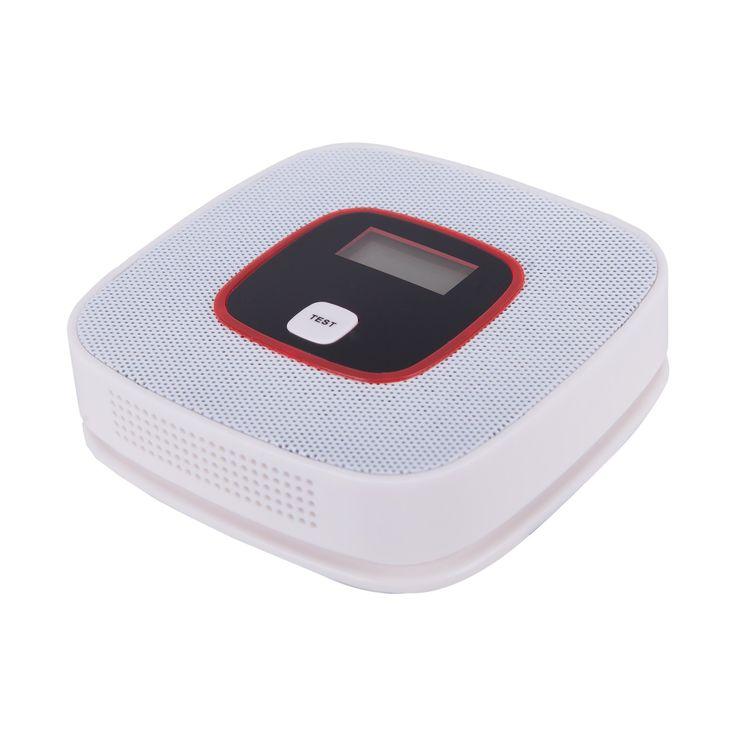 CO-Z Smoke Carbon Monoxide Detector Portable Battery LCD Alarm Alert Poisoning Monitor