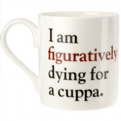 Literally - Grammar Grumble Mug No. 5