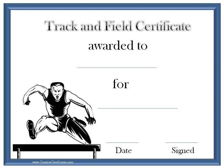 25 unique online certificate maker ideas on pinterest create track and field certificate templates free customizable with our online certificate maker many more sports awards on this site yadclub Choice Image