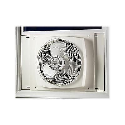 Reversible Window Fan Electrically 16 Inch Air Circulation Control Home Exhaust