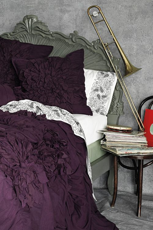 Ruffled Bed cover by Anthropologie