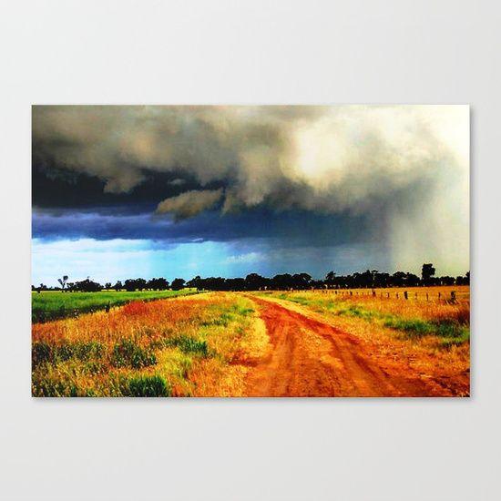 Out back Australia Canvas Print