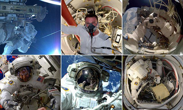 Selfies in space: Astronauts document seven-hour spacewalk  http://it-supplier.co.uk/