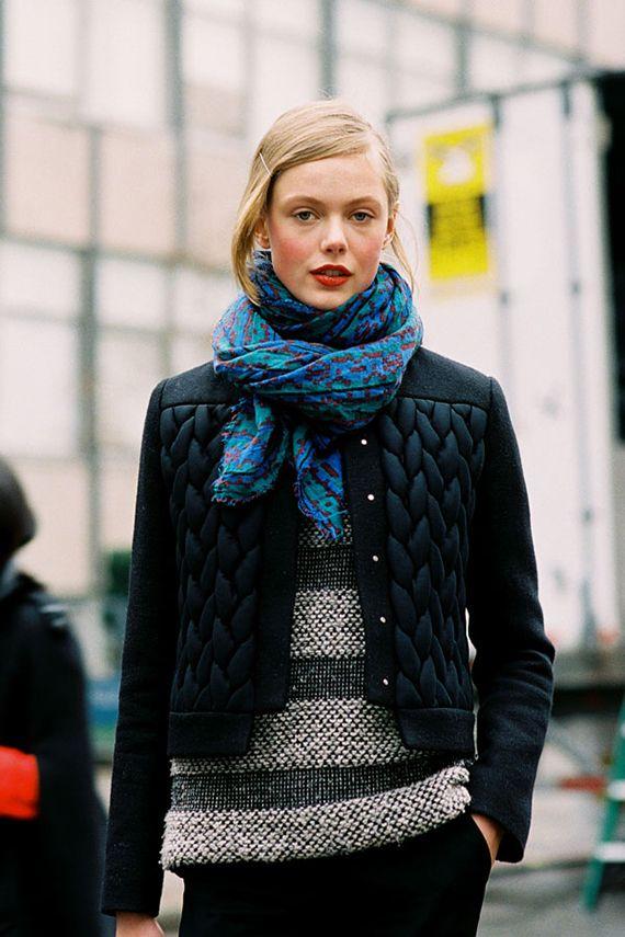MØNSTERMIKS: Frida Gustavsson er en av verdens mest ettertraktede modeller. Den svenske 20-åringen er også populær blant gatemotebloggerne –...