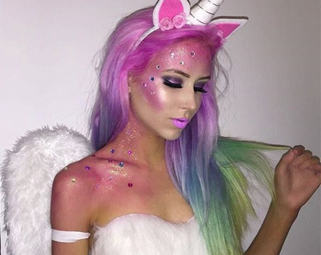 11 stunning halloween make up ideas youve got to try this year - Stunning Halloween Costumes