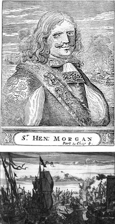 Henry Morgan, depicted here in an 18th-century portrait, was known for his bold gambits.