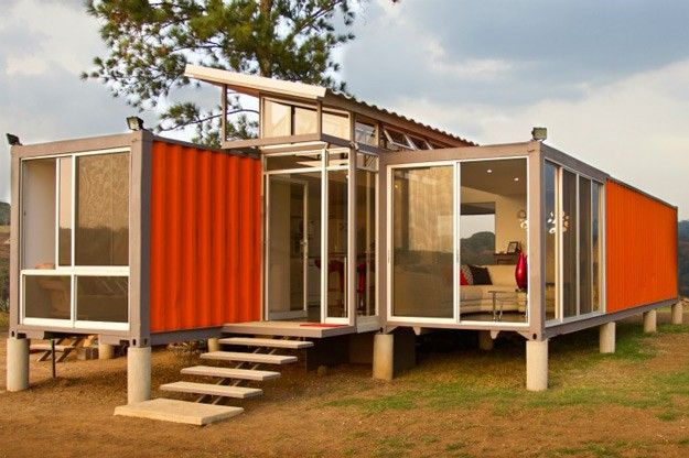 Cool Costa Rican Shipping Container House | 12 Cool Container Homes | How To Build A Beautiful House From The Container - Awesome DIY Ideas and Design You Must See! | http://pioneersettler.com/cool-container-homes/