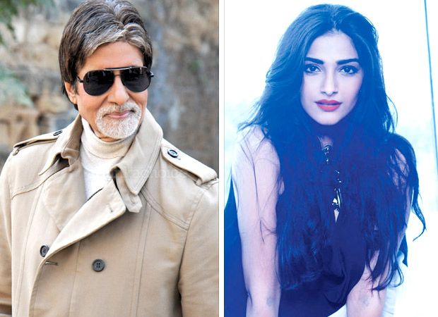 """You didn't reply to message"", Amitabh Bachchan pokes Sonam Kapoor for not responding to his birthday wishes - Bollywood Hungama #FansnStars"