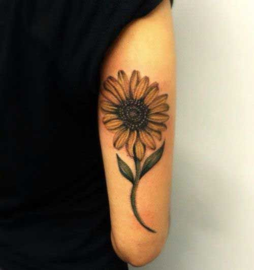 the-petite-sunflower-tattoo