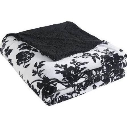 black and white floral cheap throw blanket - Google Search