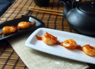 Gamberi senza glutine in salsa agrodolce alla giapponese Un'idea per un piatto dal sapore giapponese senza glutine facile e veloce. Ideale come antipasto o come secondo di pesce: credetemi, ogni volta i miei ospiti ne sono piacevolmente stupiti.