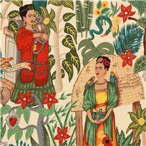 Frida fabric Mexico garden by Alexander Henry USA