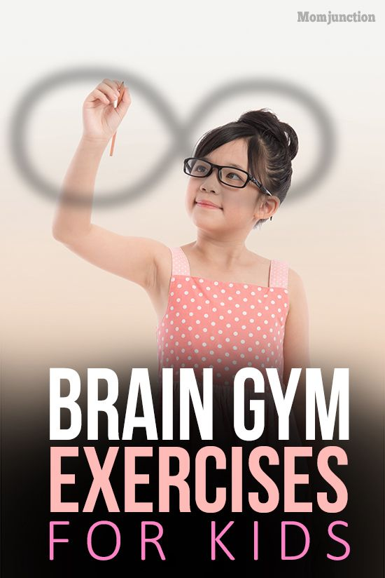 Top 10 Brain Gym Exercises For #Kids : Intelligence can guarantee your child's success, isn't it? Well, not quite! But, intelligence does go a long way in promoting your kid's mental development. With a little help, you can help hone your kid's cognitive skills and give him a head start over his peers.