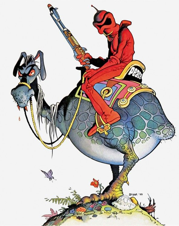 Ralph Bakshi, WIZARDS. I own this movie  have watched it repeatedly. Now my adult children  grands love it. Such great traditions we have LOL!