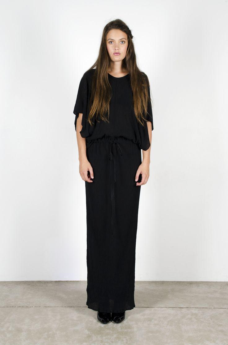Juno Dress Black – Miss Crabb