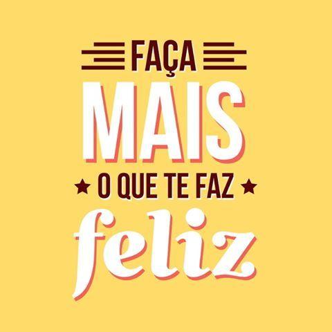 Bom dia, Mundão  A melhor forma de satisfazer os que realmente te amam, é sendo #FElIZ. O resto é hipocrisia e submissão. #frases #pensamentos #sabedoria #RioPreto #sp #Brasil