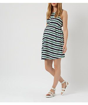 Super cute Maternity Dress...would be nice for birthdays & bbqs over the summer | New Look