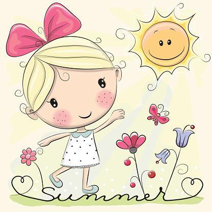 cute-cartoon-girl-vector-id528487756 (416×416)