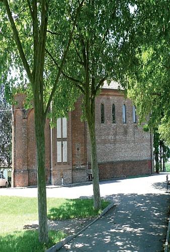 Sermide, Pieve di Santa Croce del Lagurano  #Mantova #Mantua #Italia #Italy #colline #moreniche #hills #morainic