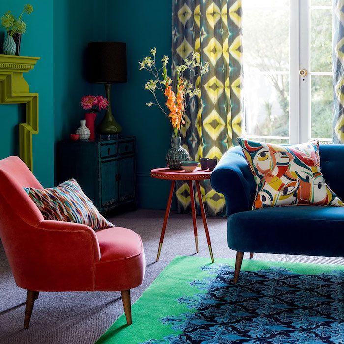 les 25 meilleures id es de la cat gorie rideaux rouge sur. Black Bedroom Furniture Sets. Home Design Ideas