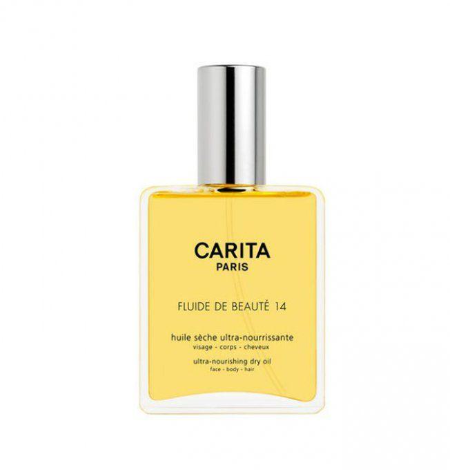 Huile capillaire : Fluide de beauté 14 de Carita, 58,90 euros