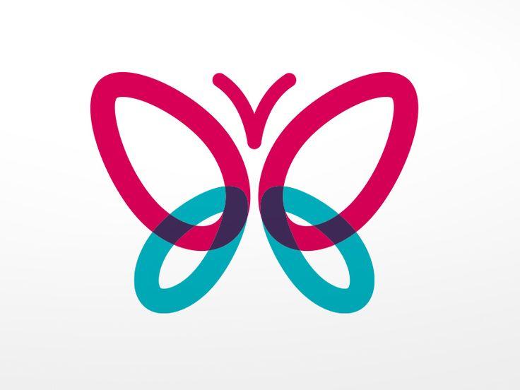 Butterfly Logo by Peter Figasinski