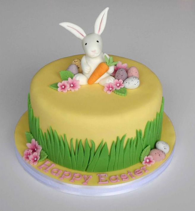 easter bunny cake | Pin Bunny Cake For 1 Year Old Boy « Jocakes Cake on Pinterest