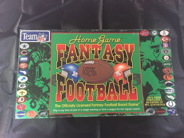 Home Game NFL Fantasy Football 1994 Board Game