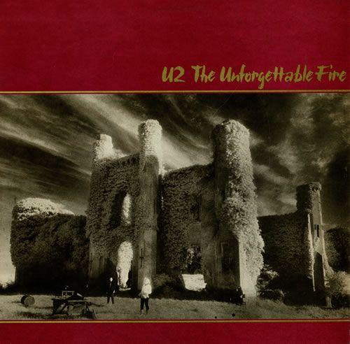U2 The Unforgettable Fire 1984 USA vinyl LP 90231-1: U2 The Unforgettable Fire (1984 US picture label 10-track vinyl LP the groups fourth…