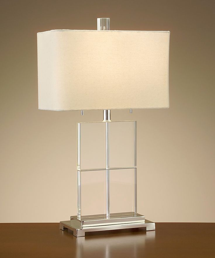 crystal cube table lamp - Lamp Shades For Table Lamps