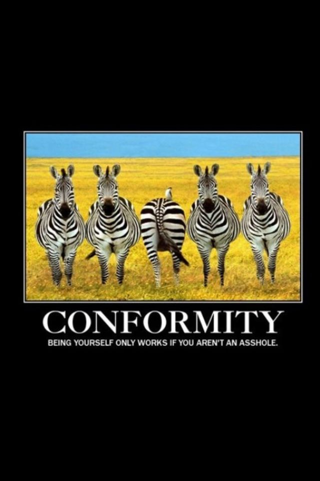 conformity in psychology a study based Conformity, obedience, disobedience: the power of the situation  education and applied psychology, university of padua,  the participants in sherif's experiment .