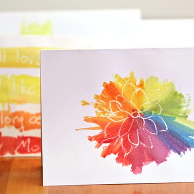Днем, открытки на 8 марта своими руками нарисованные акварелью