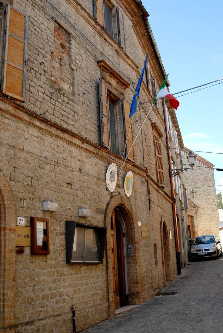 Palazzo comunale #marcafermana #montefalconeappennino #fermo #marche