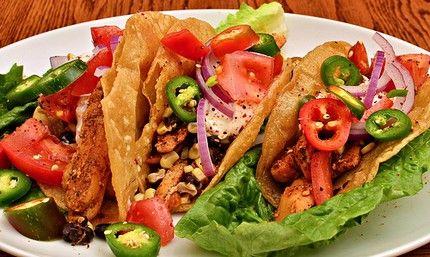 Weight Watchers #Chicken #Tacos #recipe – 5 WW points, 7 WW points plus