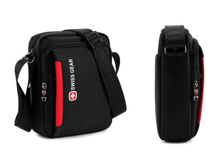BDF Original Swissgear Men Messenger Bag Waterproof Oxford Zipper Bag Versatile