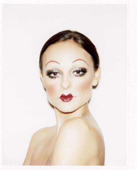 Punk Cabaret makeup idea                                                                                                                                                                                 More
