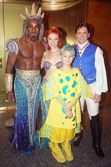 King Triton - Looks like fish netting over the skirt.  Shoulder pads would be interesting to make too.