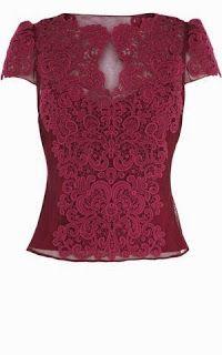 Karren Millen lace blouse