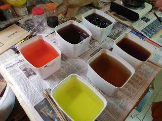 Arte & Pintura em Seda: Curso de Tingimento Natural                                                                                                                                                                                 Mais