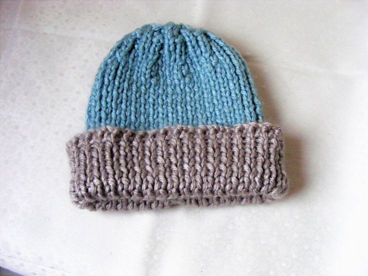 Wooly hat, knitted hat, ladies knitted hat, Chunky knit, blue & beige hat, Gifts for mom, Woolen hat, Hand knitted hat, Winter hat, by Nuggetswithlove on Etsy