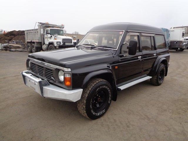 1990 NISSAN SAFARI PATROL SUV 4X4 DIESEL ONLY 31K MILES DIESEL NO RESERVE !!!
