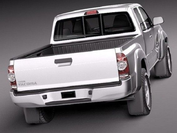 2015 Toyota Tacoma Diesel rear