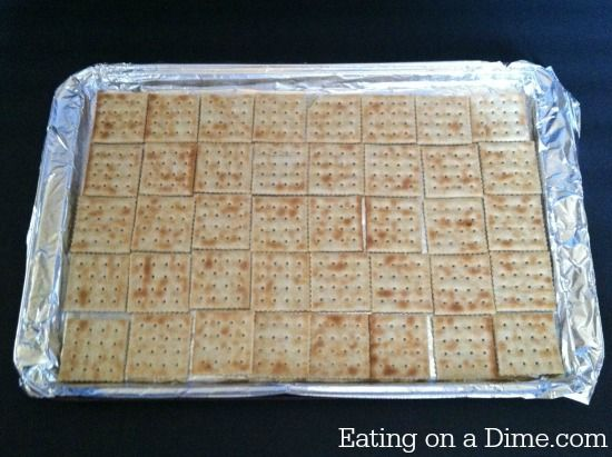 This Saltine Cracker Toffee is so easy to make - anyone can do it. Caramel cracker bars is a family favorite for us and it is perfect around the holidays.
