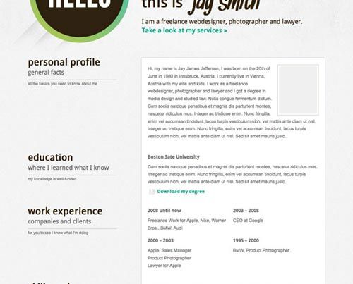 91 best RESUME images on Pinterest Curriculum, Resume and Cocktails - wordpress resume template