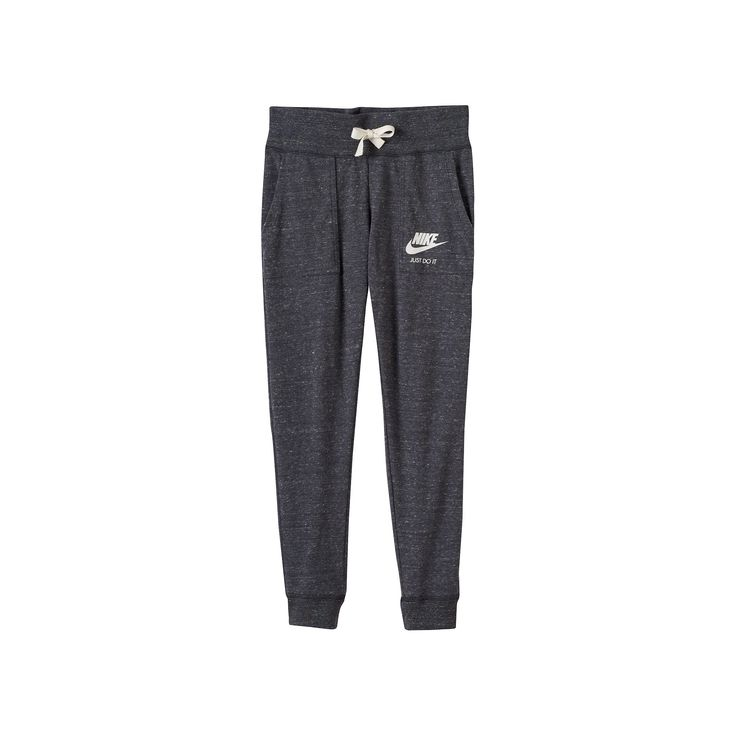 Girls 7-16 Nike Vintage Nep Gym Pants, Girl's, Size: Small, Grey Other