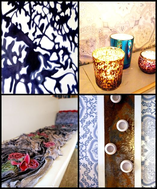 Ett mysigt hörn i vårt hem. Vi inreder med en blandning av nytt, gammalt, återbrukat, hemgjort och designat.