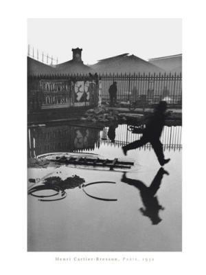 Henri Cartier-Bresson 'Derrière la gare Saint-Lazare' 1932