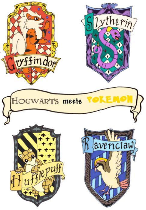 Pokemon Hogwarts Seals. Doesn't get much nerdier than this.